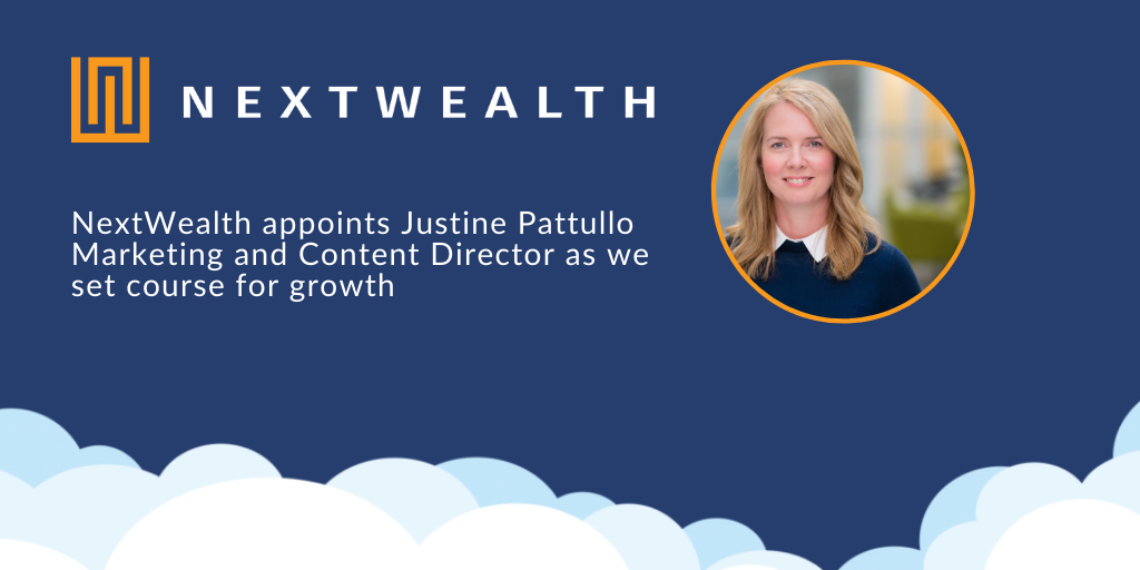 NextWealth grows with appointment of Justine Pattullo as Marketing and Content Director