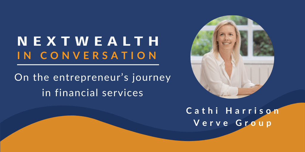 Cathi Harrison, Verve Group CEO on the entrepreneur's journey in financial services
