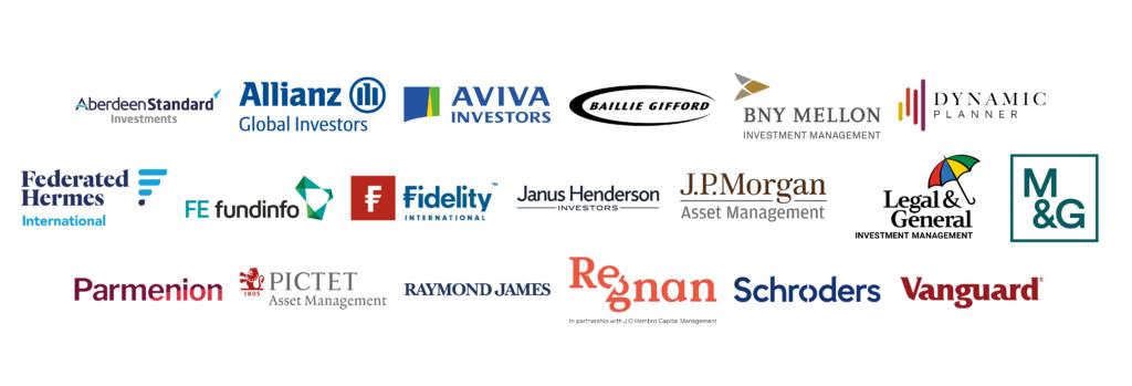 ESG Tracking Study Sponsor Logos